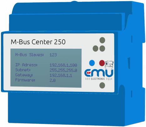 EMU M-Bus Center 20 Datenlogger