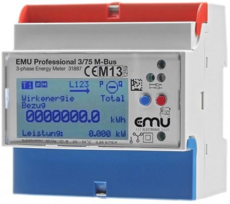 Zähler EMU Professional 3/75 M-Bus