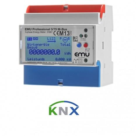 KNX Zähler EMU Professional 3/75 KNX-Bus