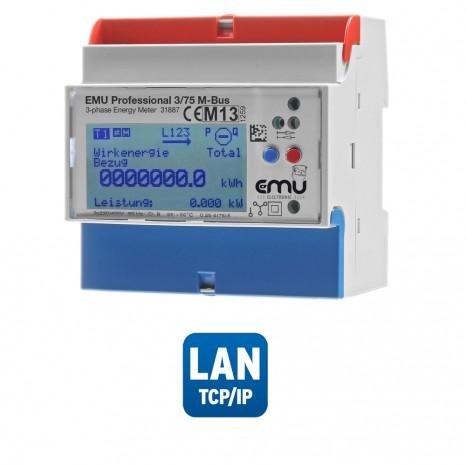 Zähler EMU Professional 3/75 TCP/IP