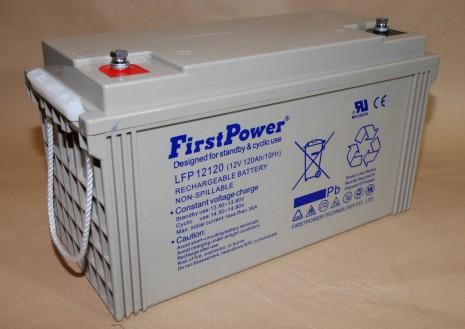 Wartungsfreie, verschlossenen Blei-Vlies OGiV Batterie 12V 120Ah